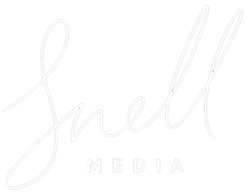Snell Media Logo@1,5x PNG White CROP ZOOM